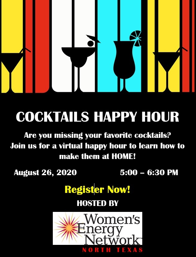 North Texas: Happy Hour with Cocktails - Virtual Event