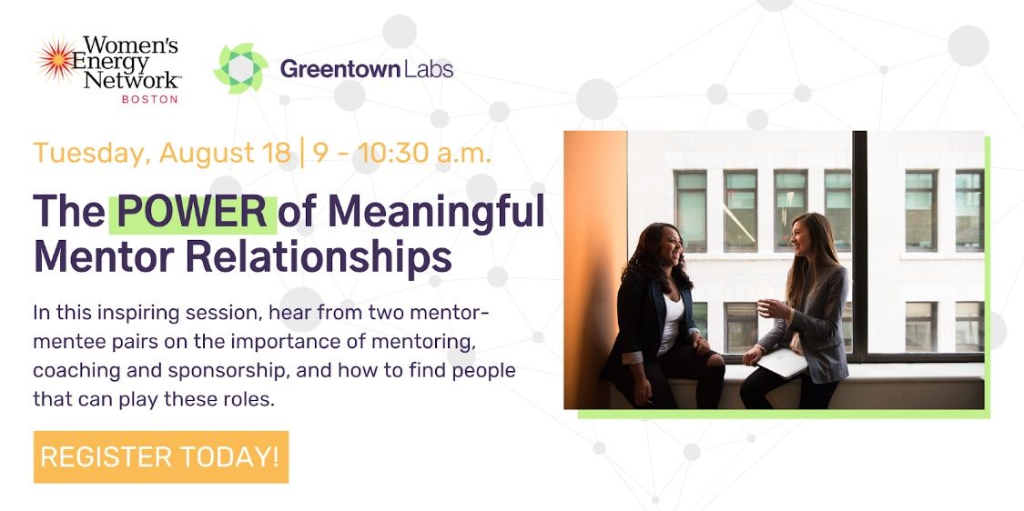 Boston Chapter: The POWER of Meaningful Mentor Relationships
